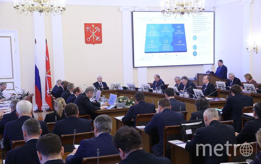 В Смольном рассказали о планах на 315-летие Петербурга. Фото gov.spb.ru