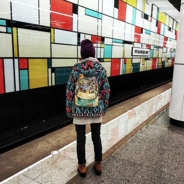 """""""Мастер маскировки"""". Фото Скриншот instagram.com/a.alteya/."""