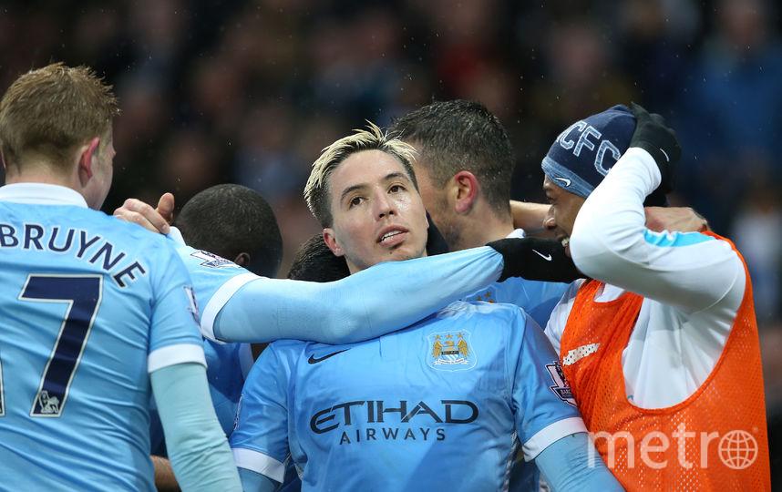 """Футболист Насри в составе """"Манчестер Сити"""". Фото Getty"""
