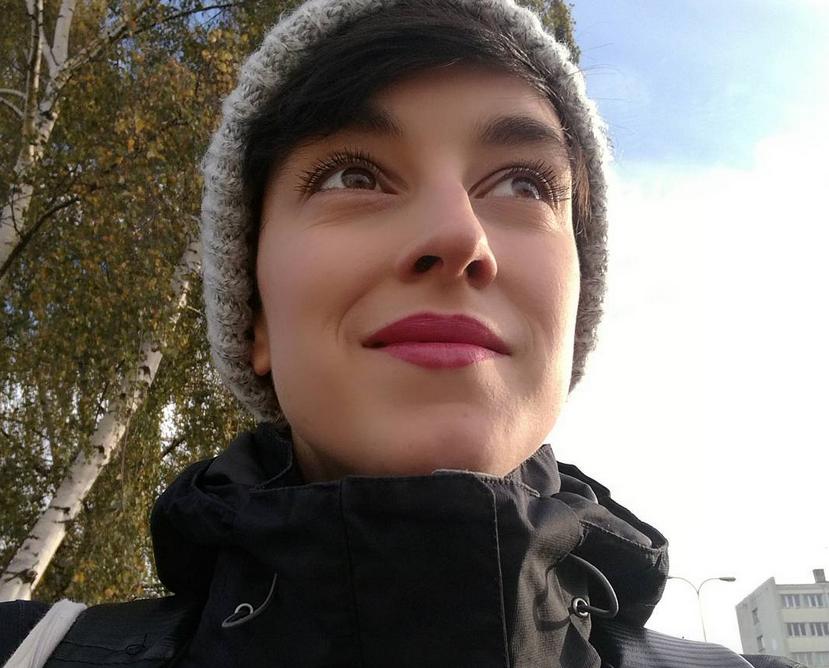 Соня Цитровска, фотоархив. Фото Скриншот instagram.com/bodyhairmovement/