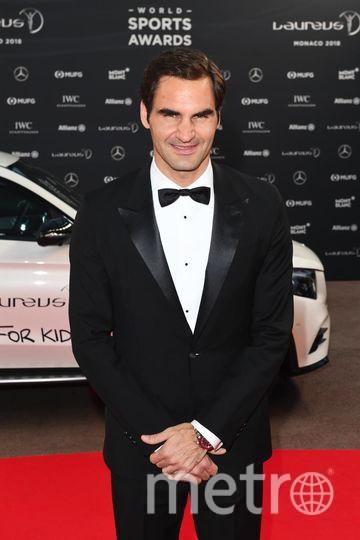 Laureus World Sports Awards-2018. Роджер Федерер. Фото Getty