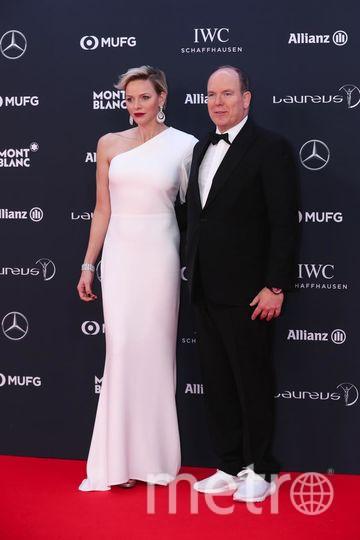Laureus World Sports Awards-2018. Принц Монако с женой. Фото Getty