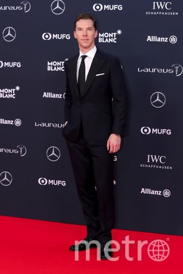 Laureus World Sports Awards-2018. Бенедикт Камбербэтч. Фото Getty