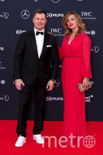 Laureus World Sports Awards-2018. Алексей Немов. Фото Getty