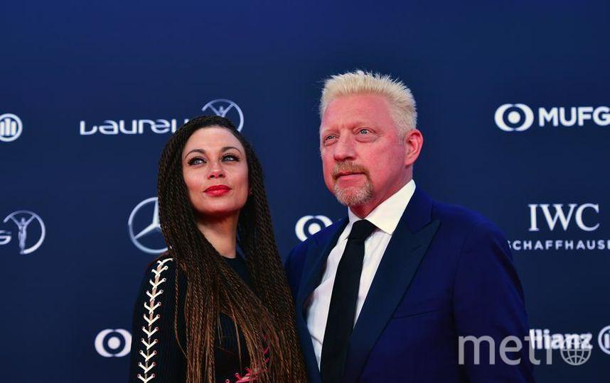 Laureus World Sports Awards-2018. Борис Беккер с женой Лили. Фото Getty