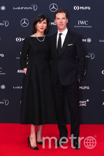 Бенедикт Камбербэтч с женой Софи Хантер. Фото Getty