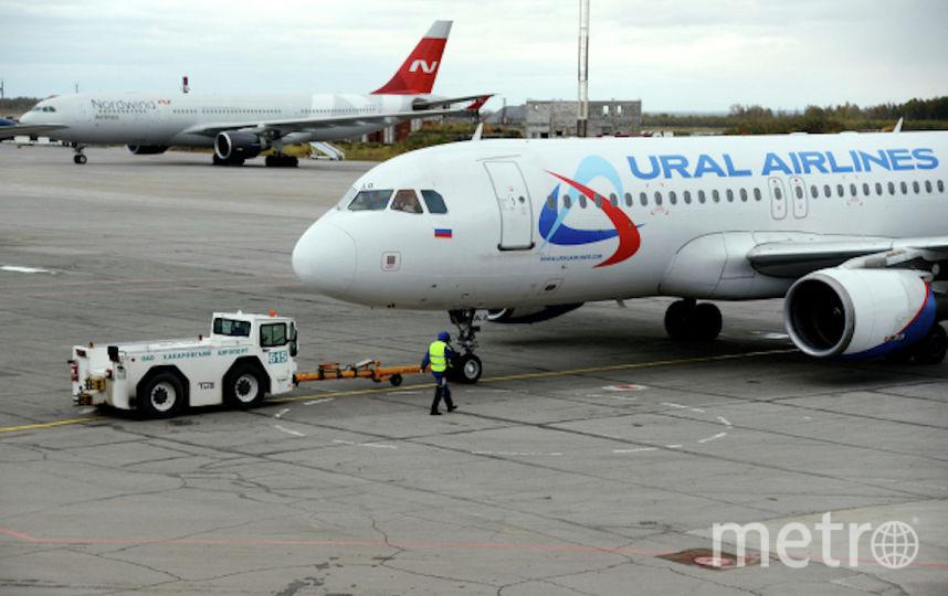 Летевший в столицу Российской Федерации самолёт из-за неисправности мотора экстренно сел вКрасноярске