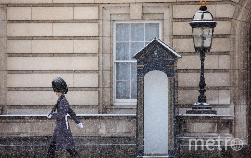 """""""Зверь с Востока"""": Шторм поверг Великобританию в панику. Фото. Фото Getty"""