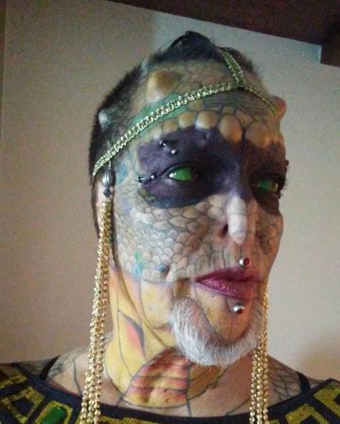 Ева Тиамат Медуза. Фото Скриншот Instagram: tiamatdragonlady