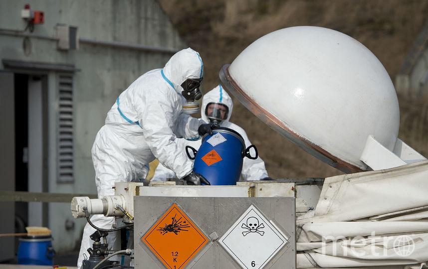 Химическое оружие. Фото Getty