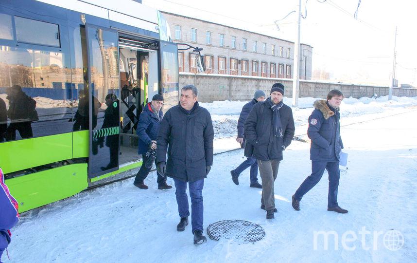 """""""Чижик"""" вышел на обкатку. Фото gov.spb.ru"""
