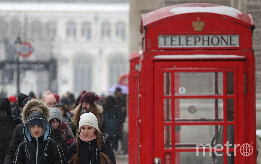 Великобритания. Фото AFP