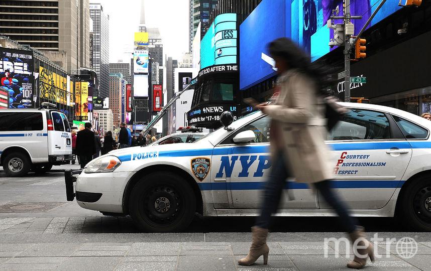 Полиция Нью-Йорка. Фото Getty