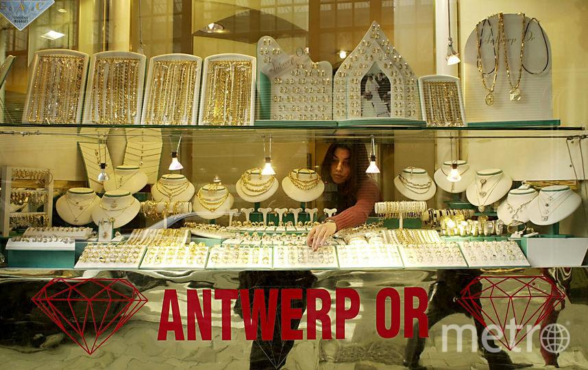 В антверпенских бриллиантовых лавках можно пропадать часами - так всё красиво. Фото Getty