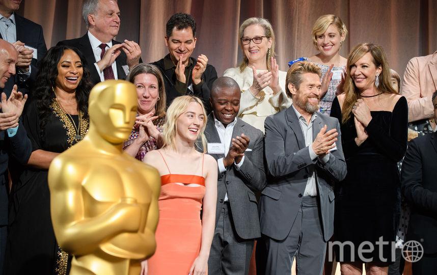 Сирша Ронан и другие номинанты «Оскара» на традиционном завтраке в отеле «Хилтон» 5 февраля 2018 года. Фото Matt Petit | ©A.M.P.A.S.