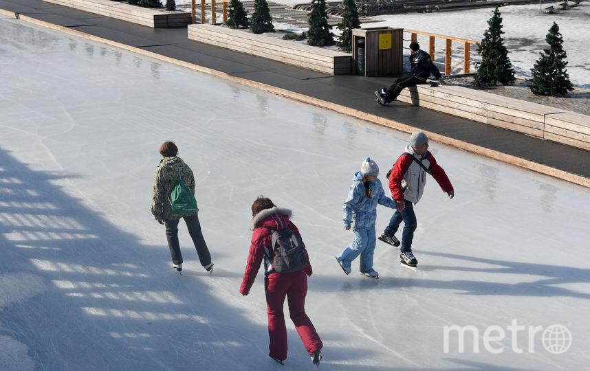 Где и когда покататься на коньках можно будет бесплатно. Фото Василий Кузьмичёнок