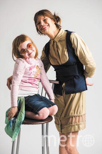 Анастасия Аброскина с дочкой Ульяной. Фото предоставлено Анастасией Аброскиной