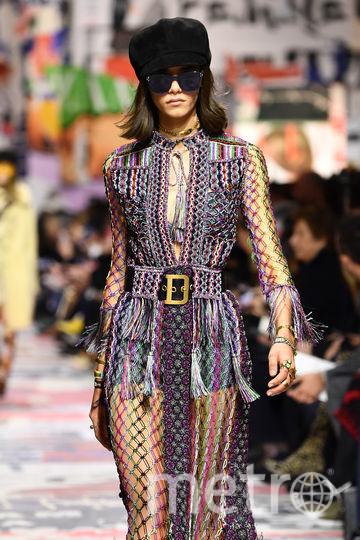 Шоу Dior. Фото Getty
