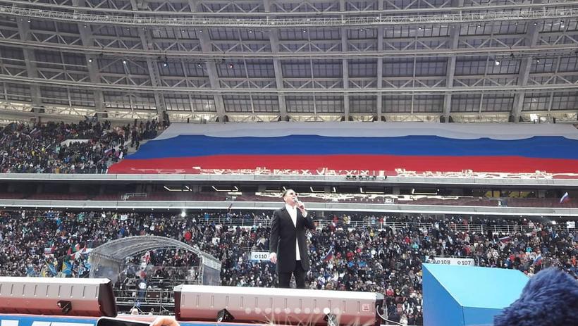 Митинг в Лужниках собрал 130 тысяч человек. Фото Скриншот Instagram https://www.instagram.com/ermilova1274/