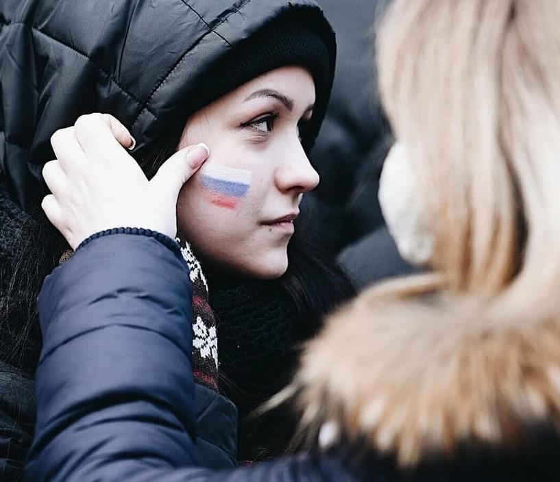 Митинг в Лужниках собрал 130 тысяч человек. Фото Скриншот https://www.instagram.com/bagdan_rudin/
