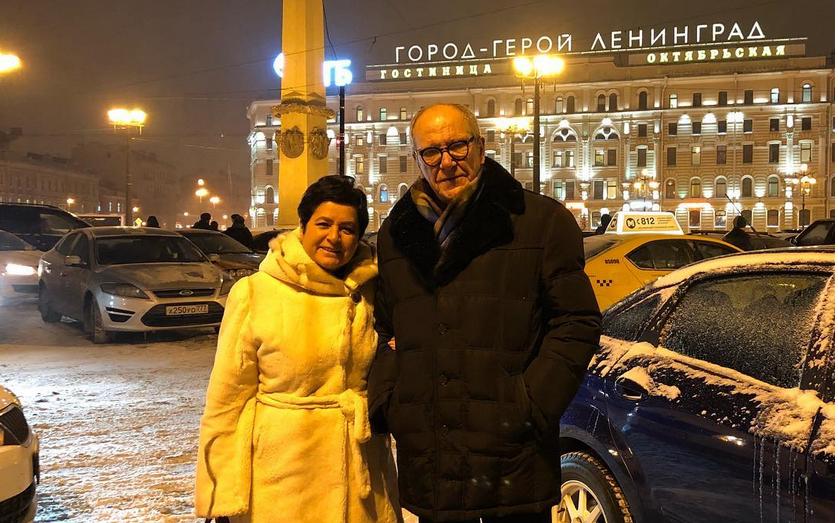 Эммануил Виторган с супругой, фотоархив. Фото все - скриншот instagram.com/emmanuil_vitorgan