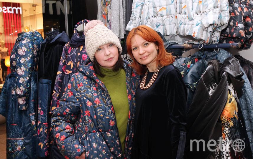 Катя Семенова и Наталья Душегрея. Фото Предоставлено организаторами мероприятия.