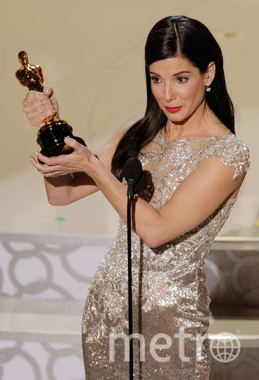 "Сандра Буллок на церемонии вручения ""Оскар"" в предыдущие годы. Фото Getty"