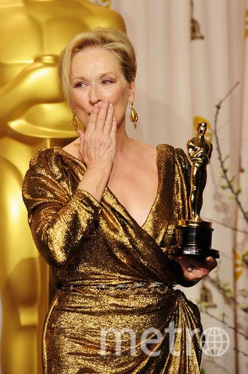 """Мэрил Стрип, одна из претенденток в номинации """"Лучшая женская роль"""". Фото Getty"""