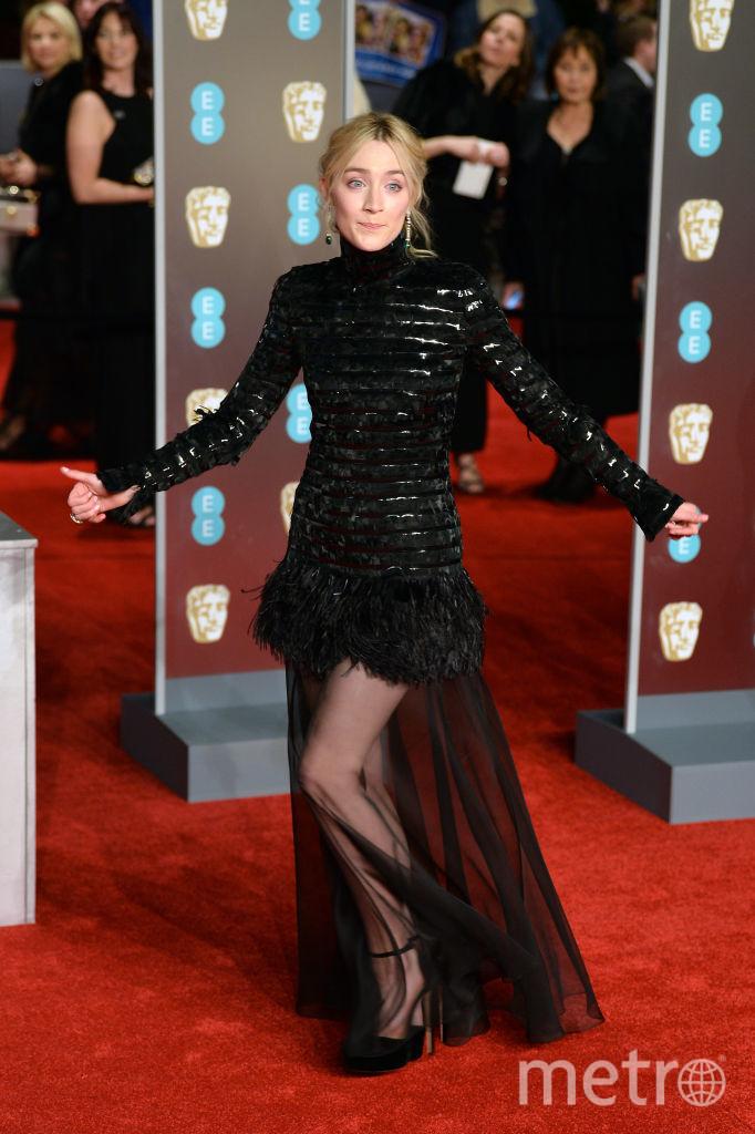 """Сирша Ронан, одна из претенденток в номинации """"Лучшая женская роль"""". Фото Getty"""