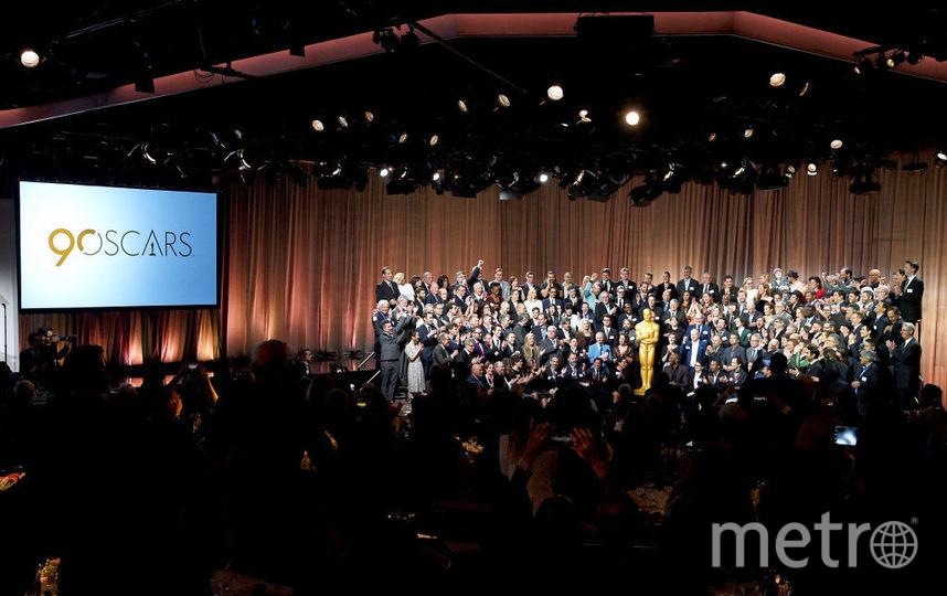 "Совместное фото всех номинантов премии ""Оскар - 2018"". Фото Getty"