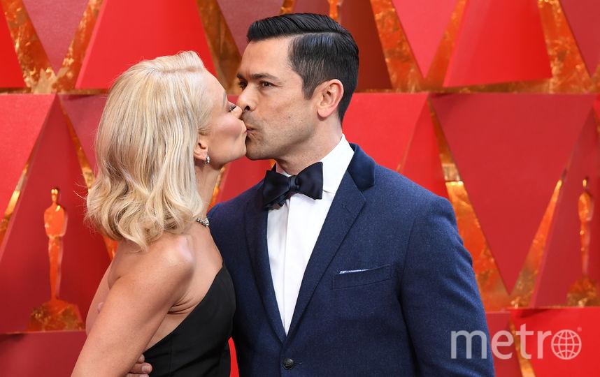 Келли Рипа с мужем. Фото AFP