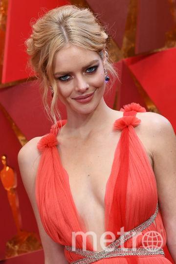 Австралийская модель Самара Уивинг. Фото AFP