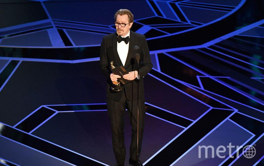 «Оскар» залучшую мужскую роль получил британский артист Гэри Олдман
