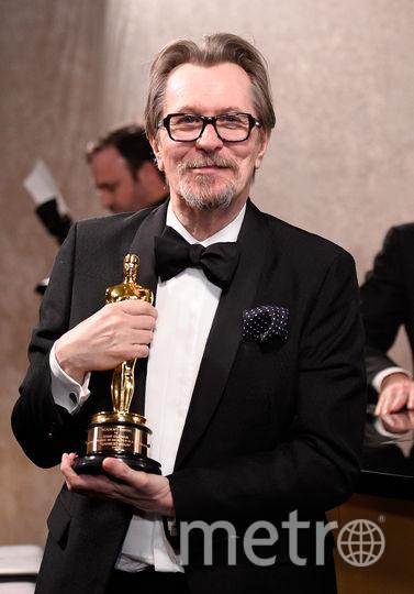 """Премию """"Оскар"""" 2018 года за лучшую мужскую роль получил Гари Олдман. Он сыграл Уинстона Черчилля в фильме """"Темные времена"""". Фото AFP"""