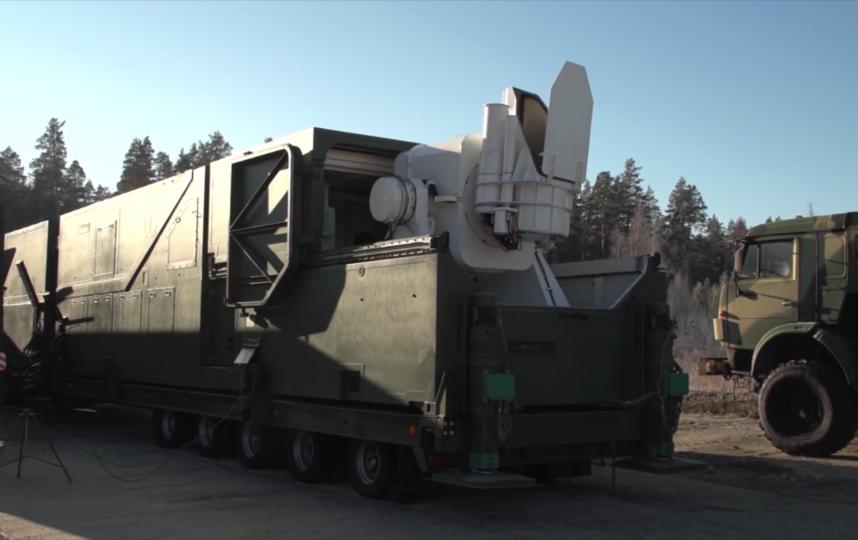 Боевой лазерный комплекс. Фото Минобороны России | mil.ru