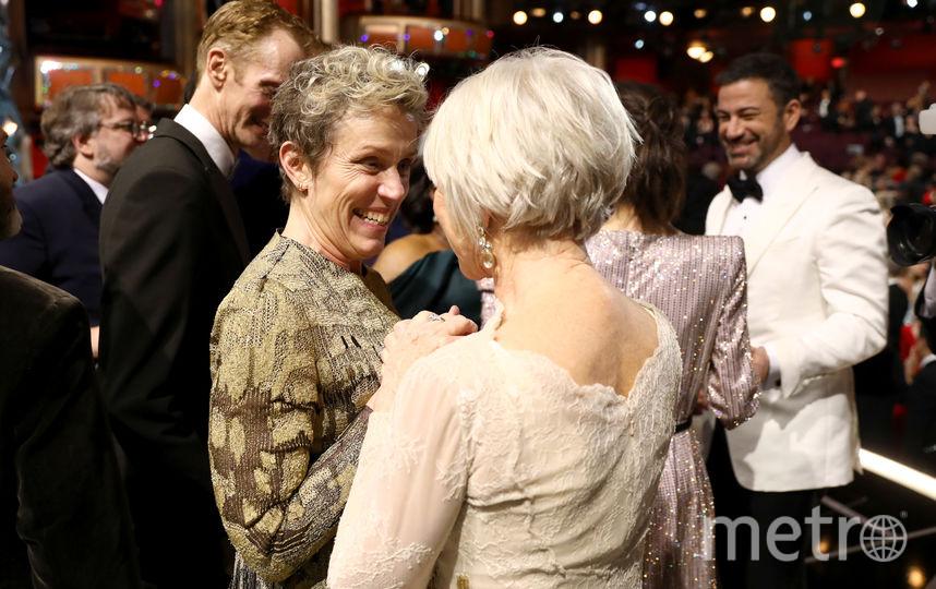На церемонии вручения премии Оскар. Фото Getty