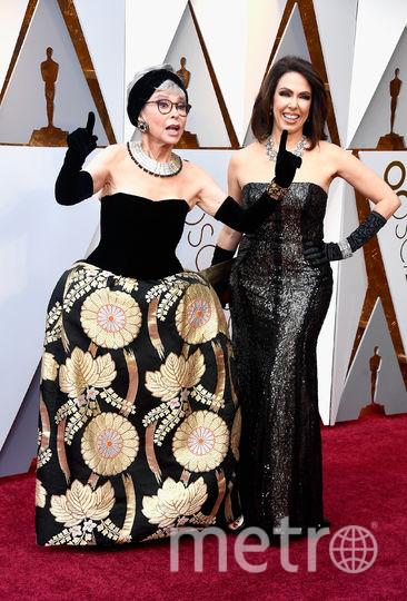 Рита Морено и Фернанда Луиза Гордон на премии Оскар. Фото Getty