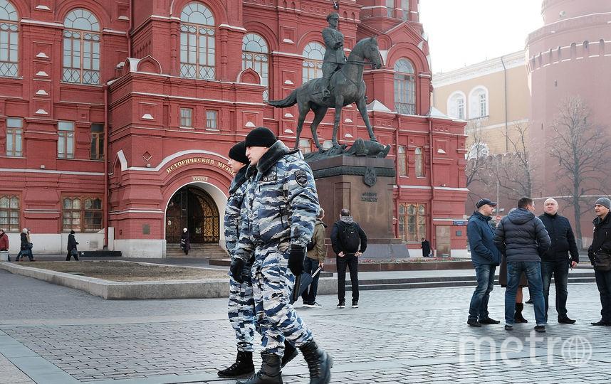На Красной площади были задержаны двое психически нездоровых мужчин. Фото Getty