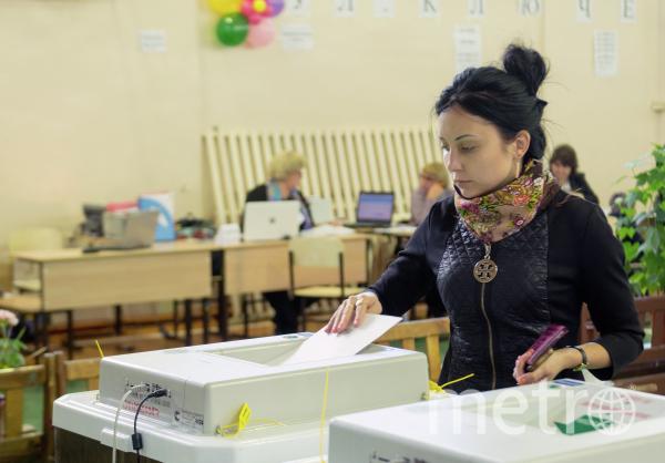 Москвичи смогут проголосовать даже не на своих избирательных участках. Фото РИА Новости