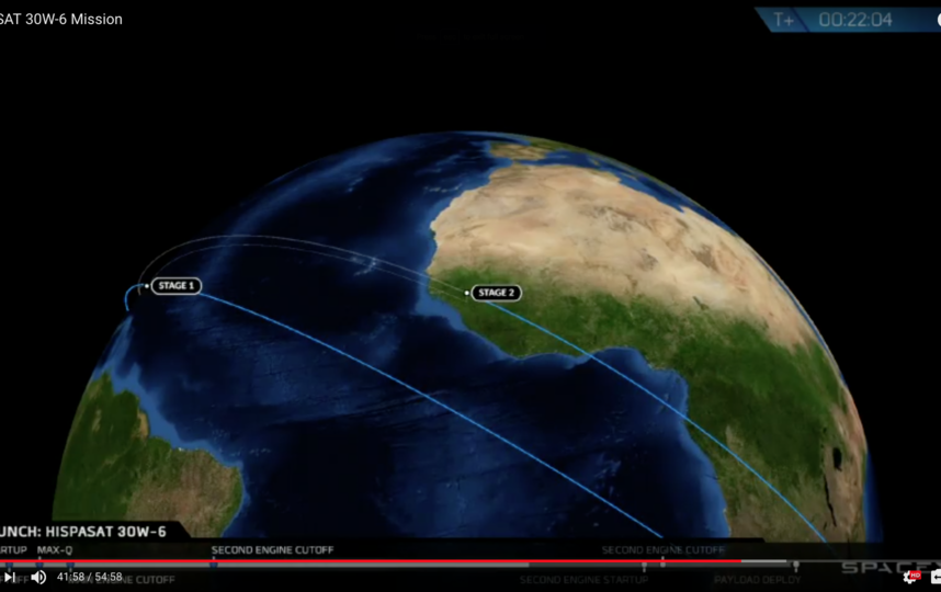 Кадры прямой трансляции. Фото Скриншот Youtube