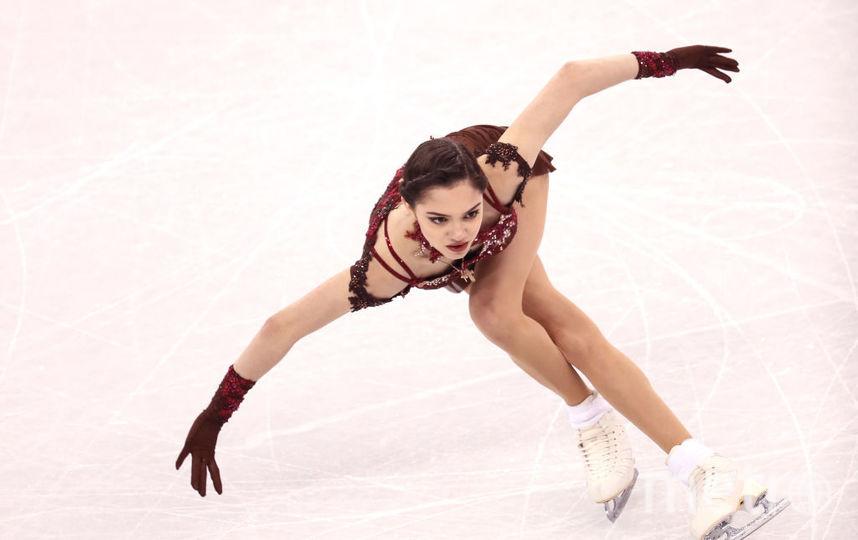 Евгения Медведева на Олимпиаде в Пхенчхане. Фото Getty
