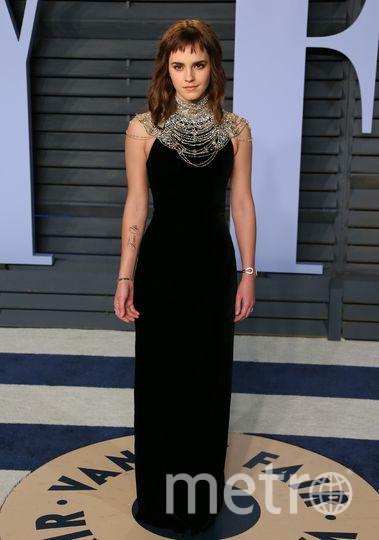 Эмма Уотсон на вечеринке Vanity Fair. Фото AFP