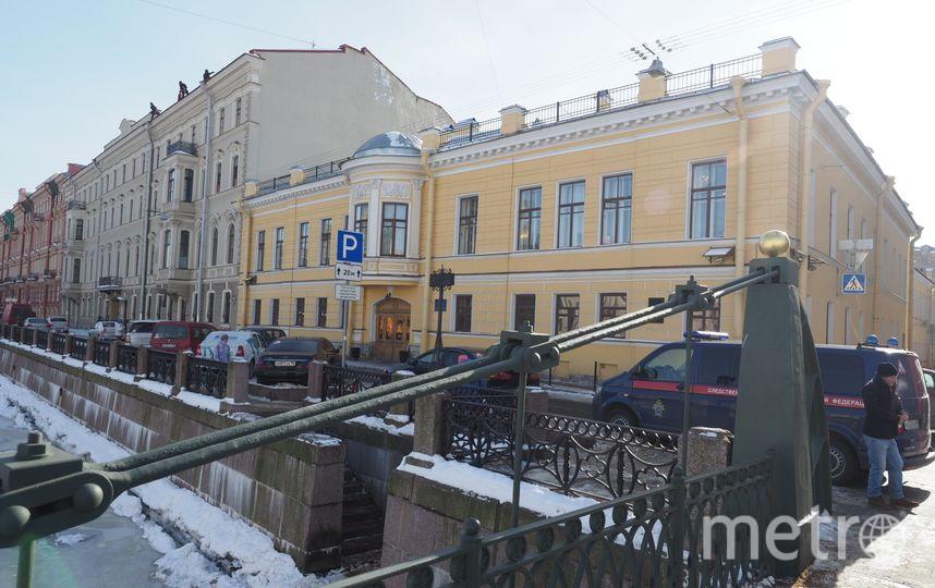 В доме Монферрана, где сейчас находится следственный комитет, отреставрируют два помещения. Фото Святослав Акимов.