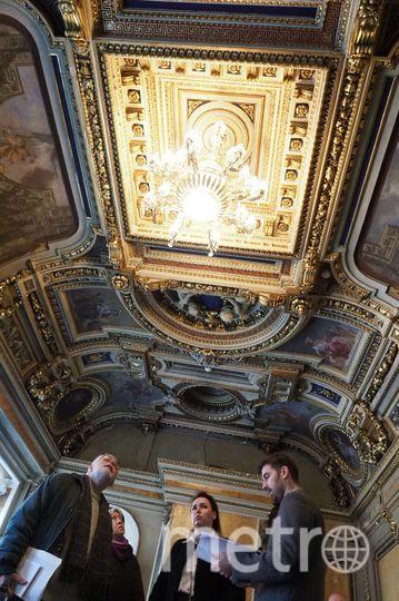 Золотой зал в доме Монферрана. Фото Святослав Акимов.