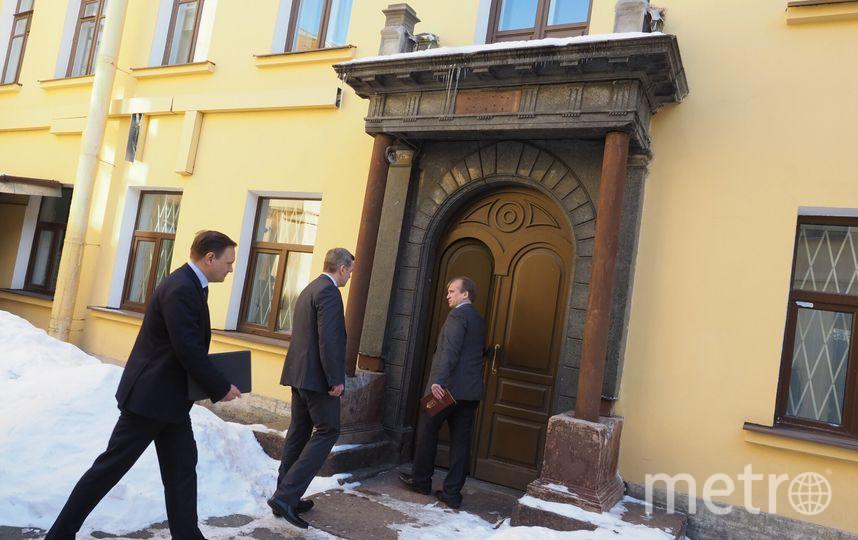 Портал внутреннего дврика. В доме Монферрана, где сейчас находится следственный комитет, отреставрируют два помещения. Фото Святослав Акимов.