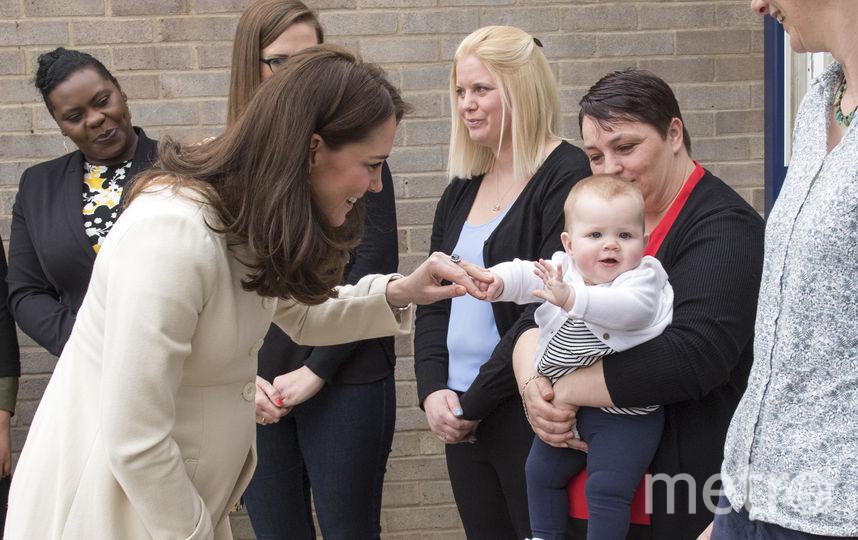 Кейт Миддлтон посетила школу в Оксфорде. Фото Getty