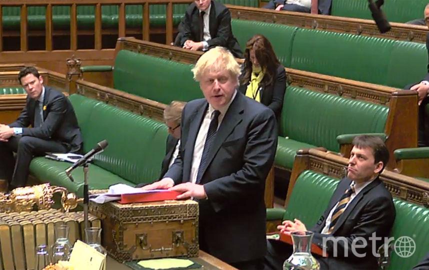 Глава МИД Великобритании Борис Джонсон заявил, что Лондон намерен принять жесткие ответные меры в случае, если удастся установить причастность России к инциденту в Солсбери с бывшим полковником ГРУ Сергеем Скрипалем. Фото AFP