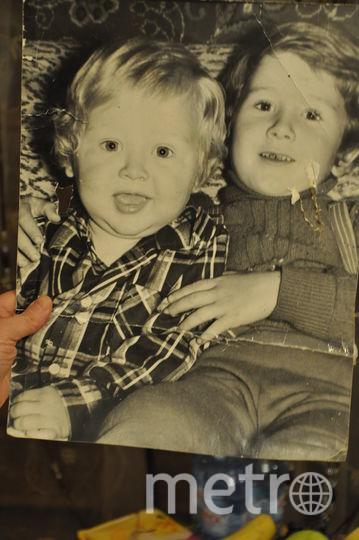 Сыновья Аделии Аляутдиновой. Фото из детства, которое очень любит их мама. Фото Михаил Нешевец.