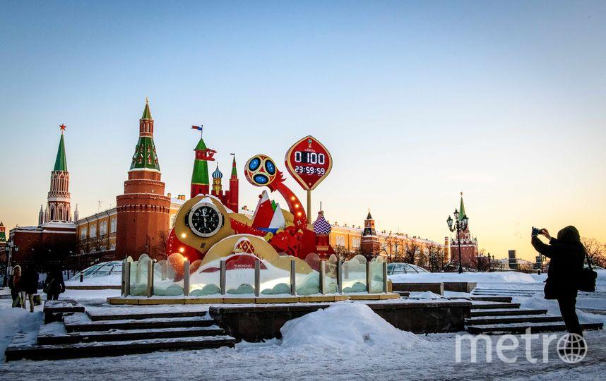 Зима в Москве пока ещё продолжается. Фото AFP