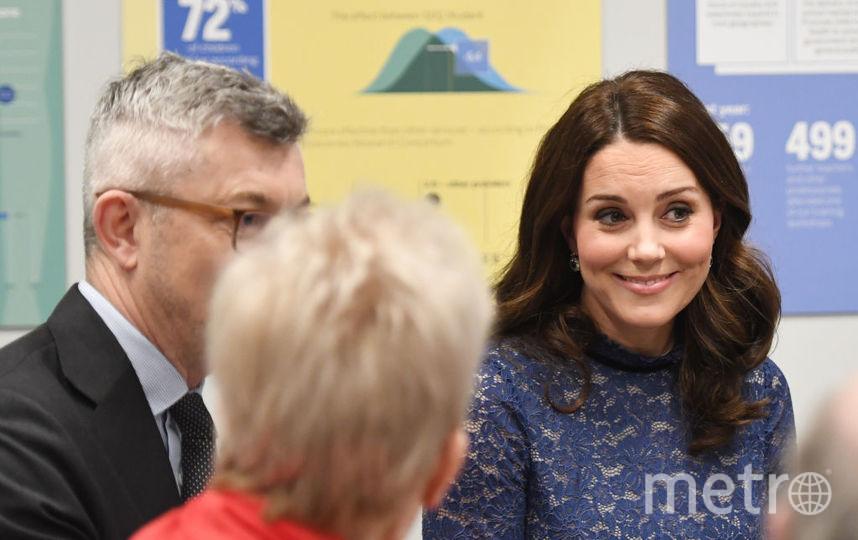 Герцогиня Кэтрин на мероприятие Place2Be 7 марта. Фото Getty